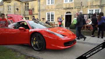 Ferraris Arrive for Italian Day in Broadway