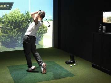 WellChild – GC2 Foresight Sports Simulator from Brickhampton Golf Course