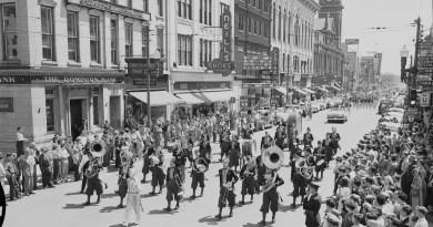downtown Ptbo May 1954