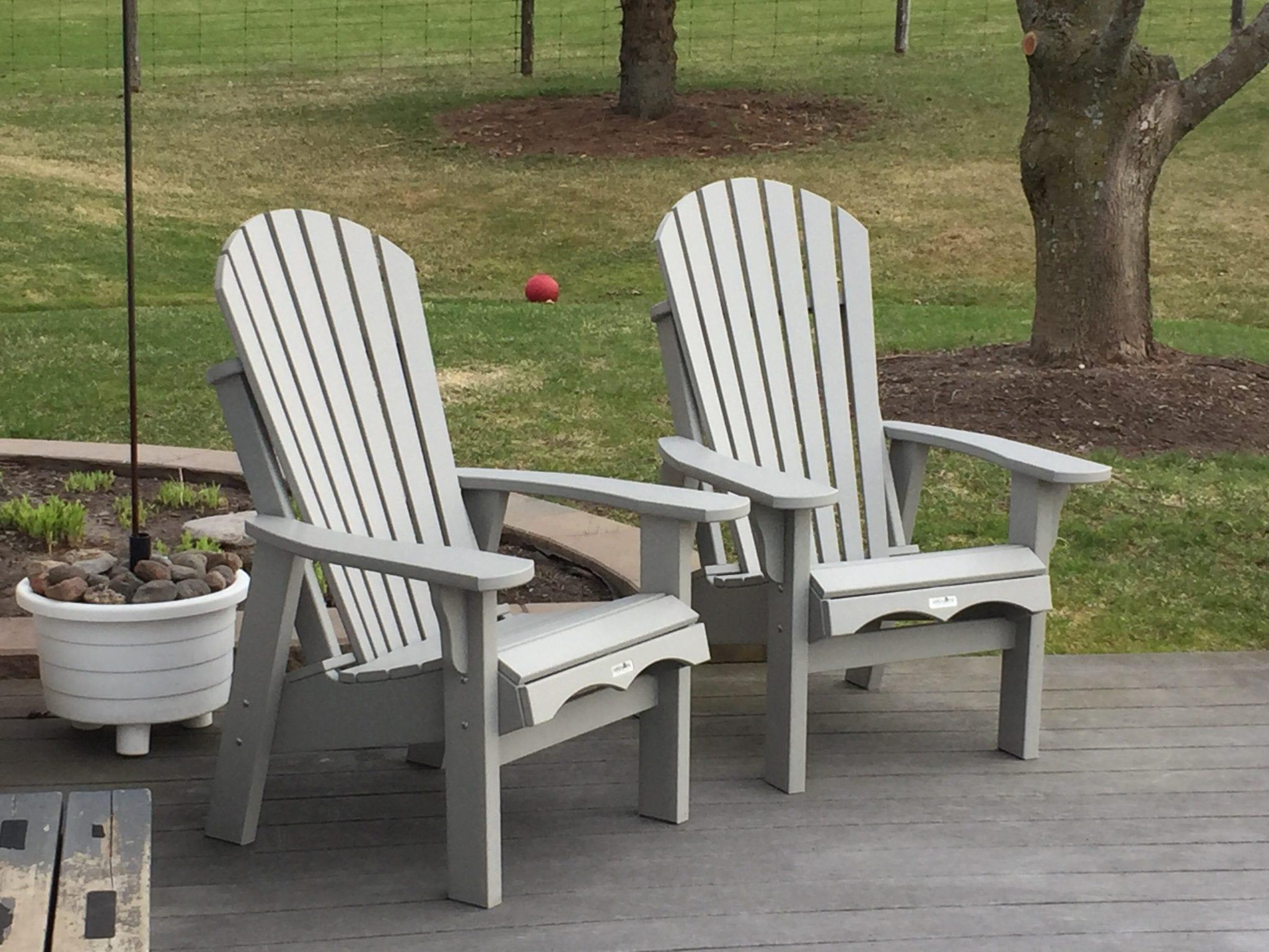 krahn small adirondack patio chair 369