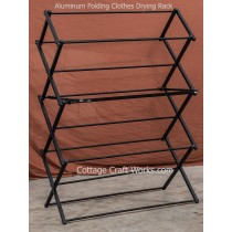 Finished with a tough coating these are guaranteed not to chip or rust during the use of your drying rack. Featuring Old Fashioned Wooden Folding Clothes Drying Racks
