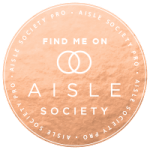 Cottage Luxe Boutique Event Rentals Aisle Society Badge