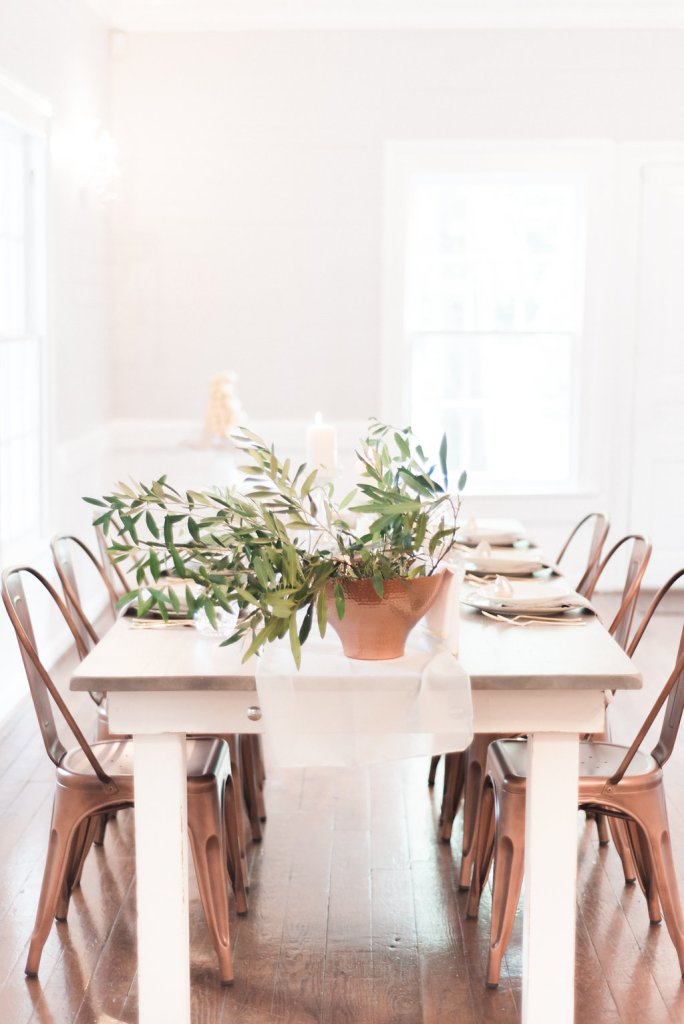 Signature Farm House Tables - Look Book, styled indoor
