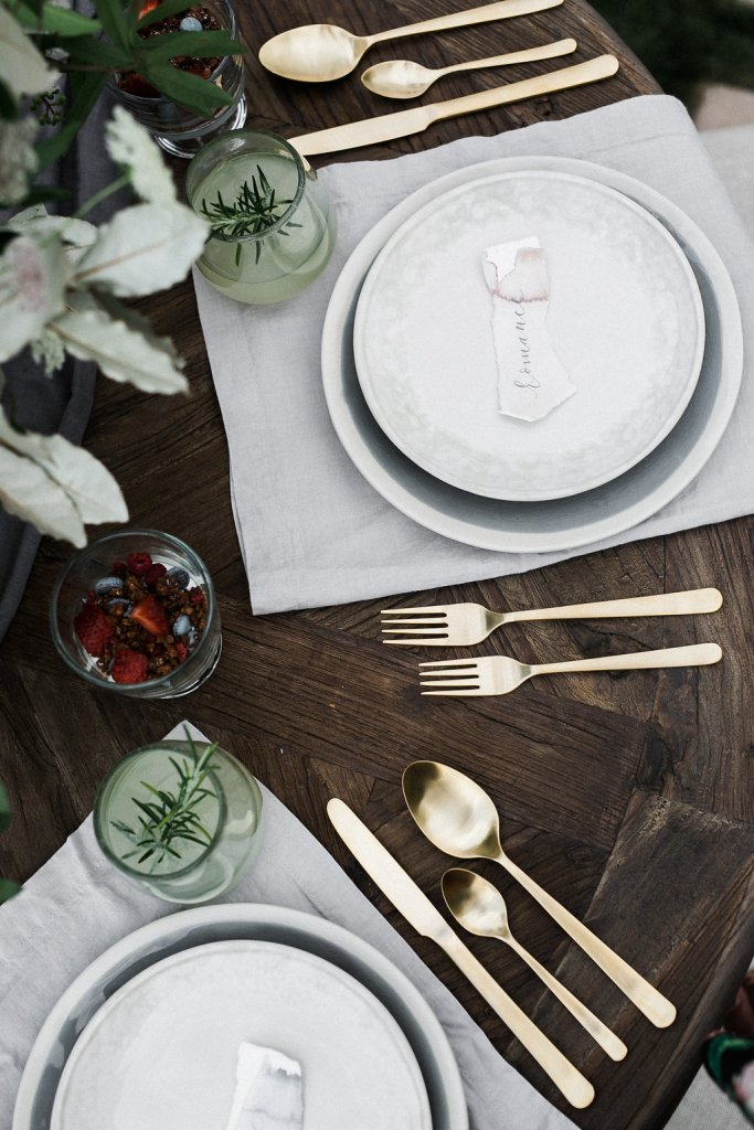 Feature on JoyWed An Intimate Affair- Place settings