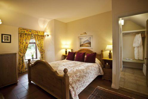 Rose Cottage luxury bedroom.
