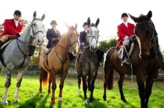Huntsman at the Point to Point Country Fair at Dowth