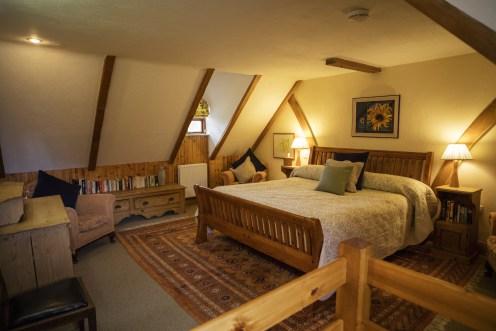 Garden Cottage - camera matrimoniale letto super king size