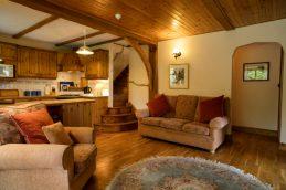 Garden Cottage - salotto open space