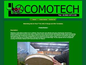 Locomotech website screen
