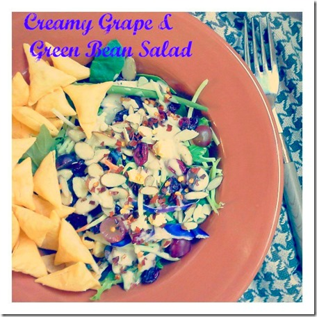 grape and green bean ceasar