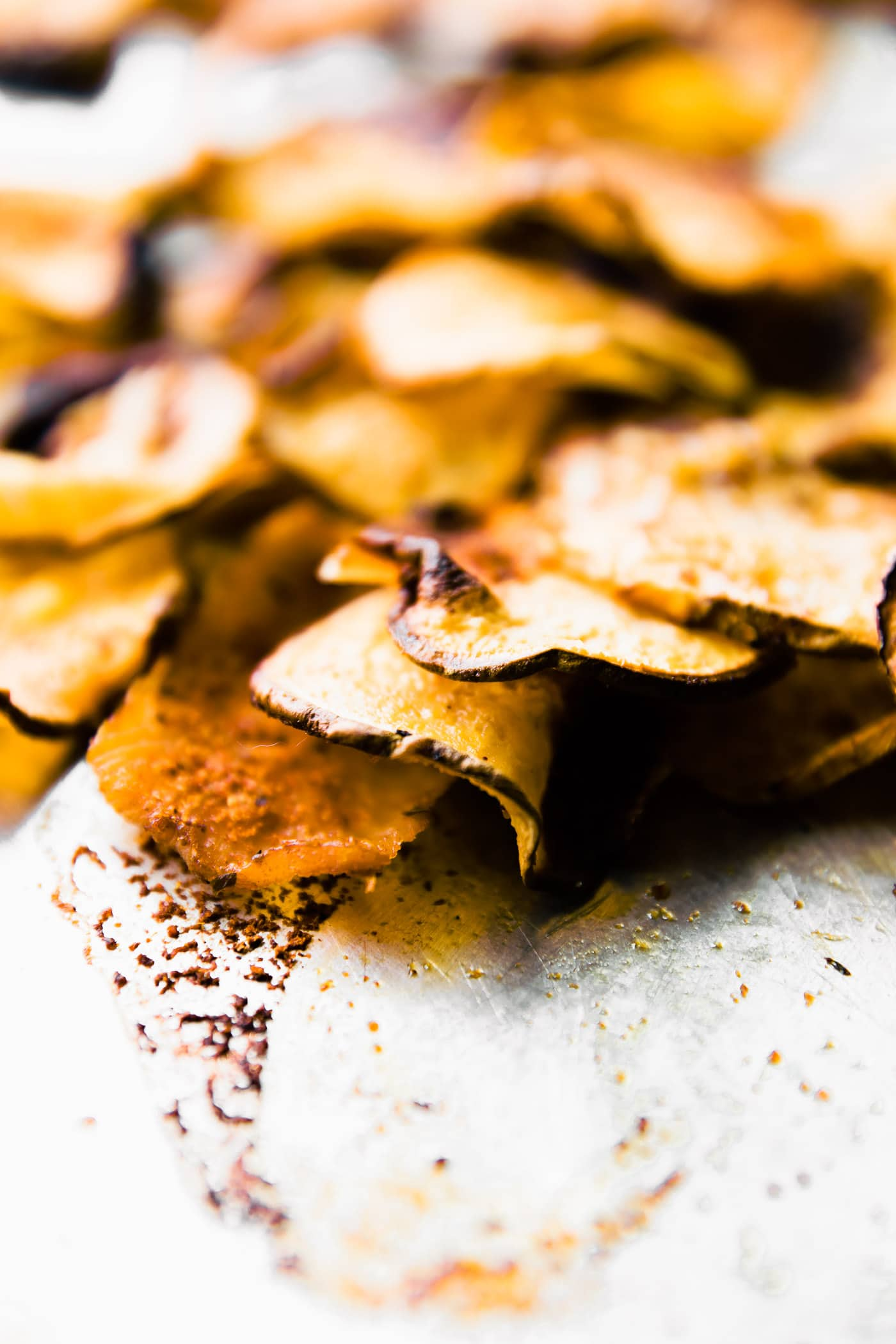 Gluten free BBQ Baked Rutabaga Chips! Healthy flavorful side dish for Summer BBQ's or any time of year! Rutabaga is a root vegetable that's easy to bake and cook with! These chips are super tasty, kid friendly, and naturally paleo/vegan! EAT UP!