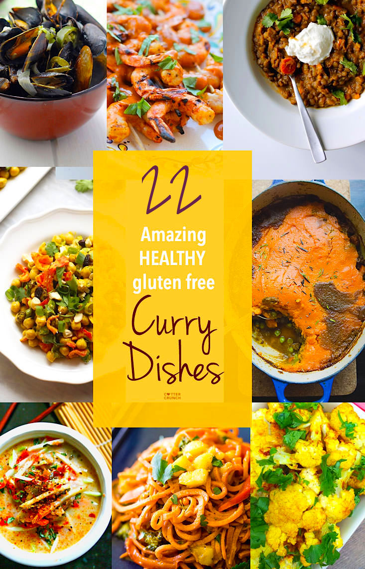 The Best Gluten Free Curry recipes around the web! These 22 Gluten Free Curry recipes sure to keep you Healthy this Fall! All easy to make, full of amazing nutrients and flavor, and perfect for entertaining or a family meal. #asian #thai #indian #recipes