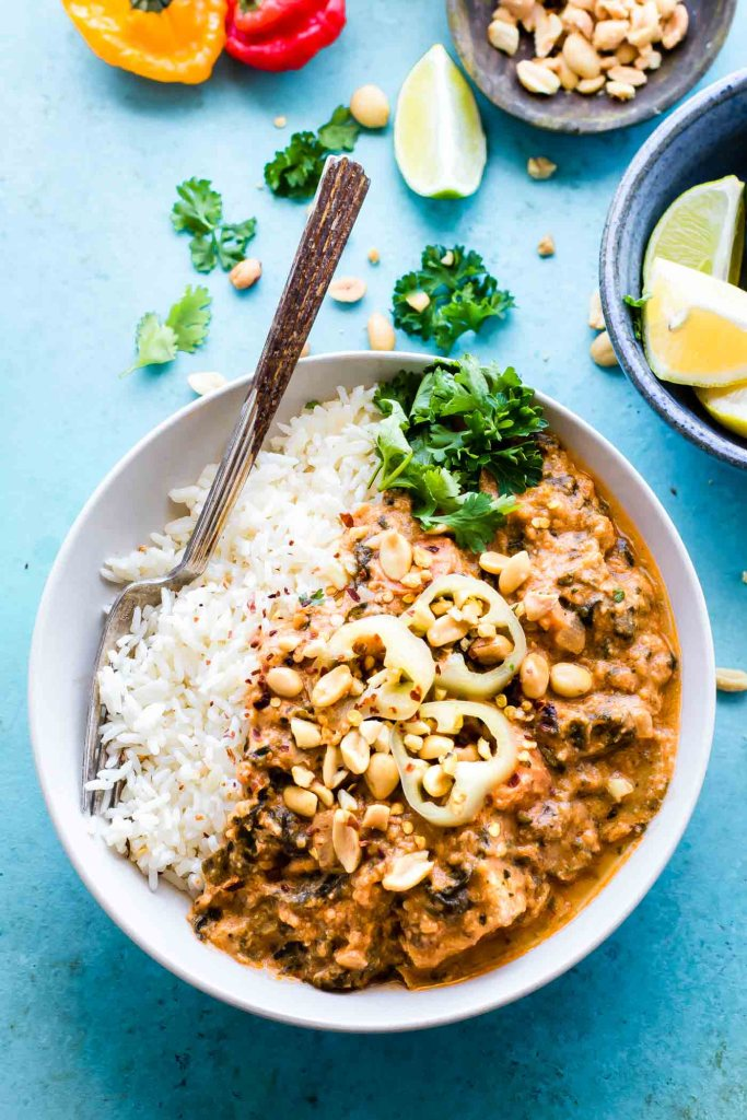 Slow Cooker West African Peanut Stew