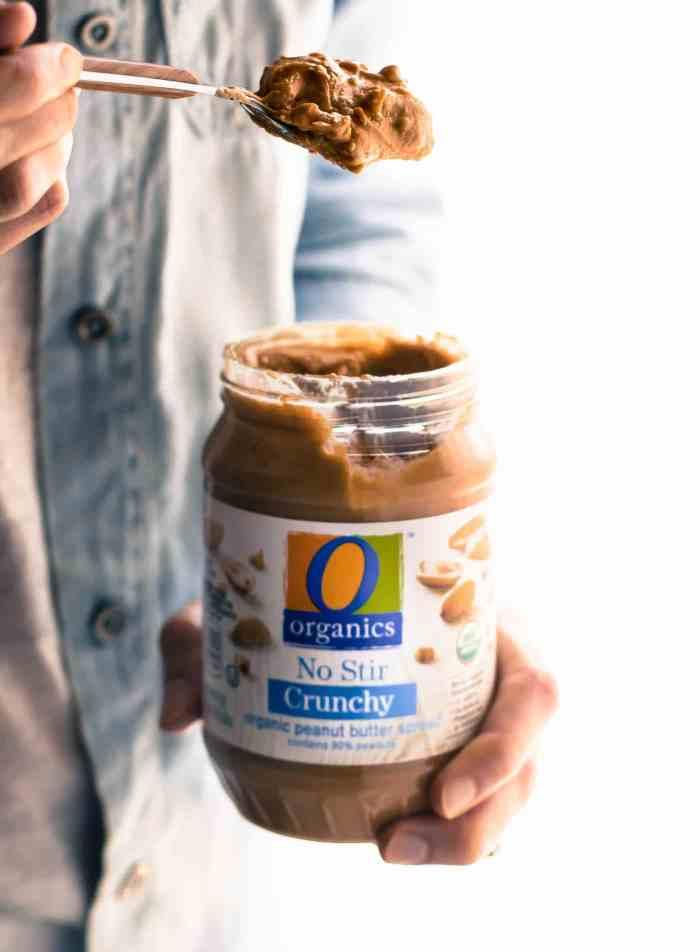 Organic peanut butter, from O Organics