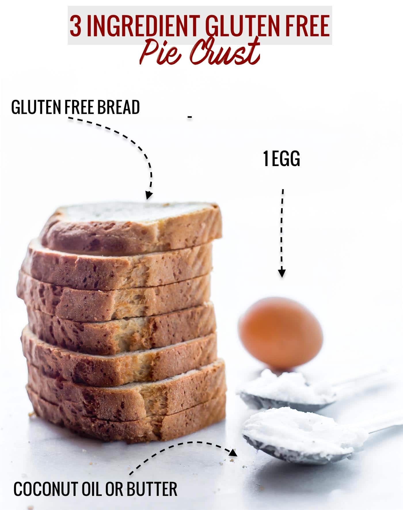A 3ingredient gluten free pie crust recipe that's easy to make and a dairy free. All you need are 3 healthy ingredients to mix the dough. A multipurpose gluten free pie crust that's great for a quick meal, dessert, or baking dish. This recipe has become a staple in our house for easy gluten free baking! Vegan Option @udisglutenfree