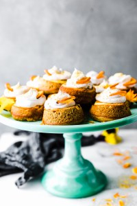 Orange Cream Mini Paleo Upside Down Cake