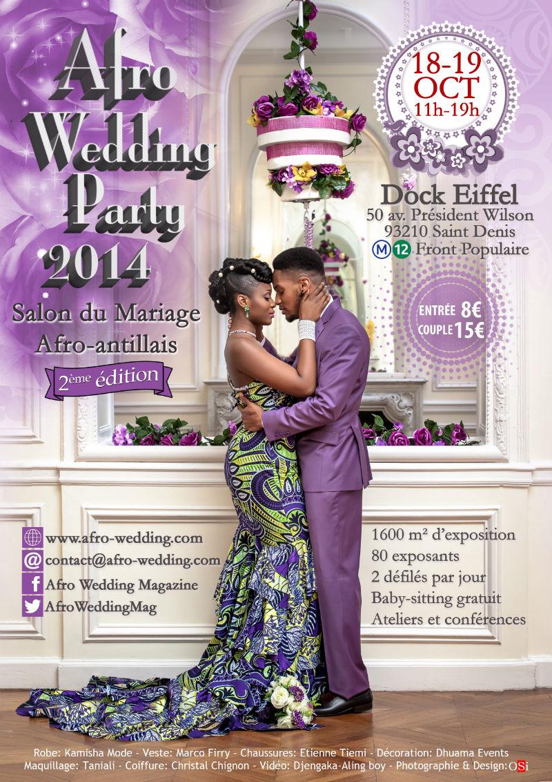 afro wedding le salon du mariage afro
