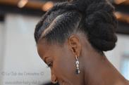 mariée coiffure sur cheveux naturels