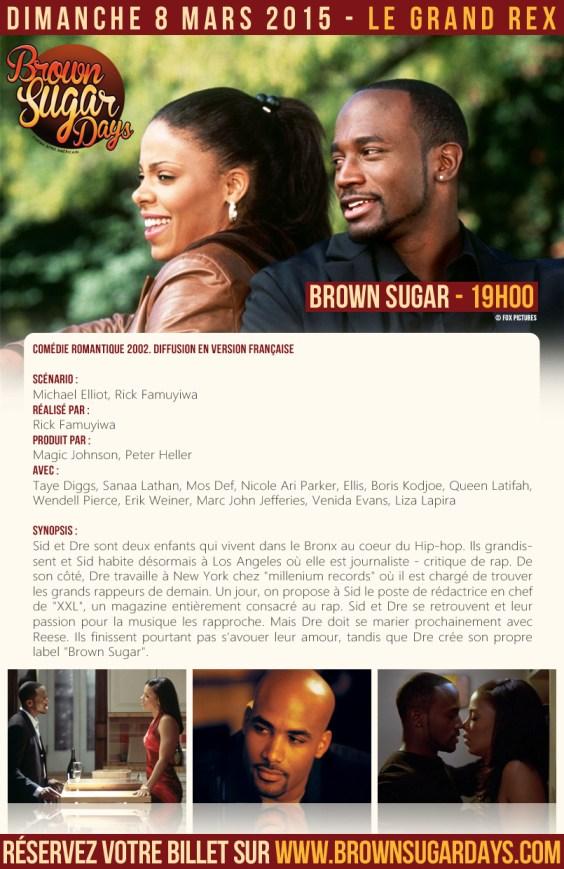 brown sugars days evenement parisien film afro grand rex