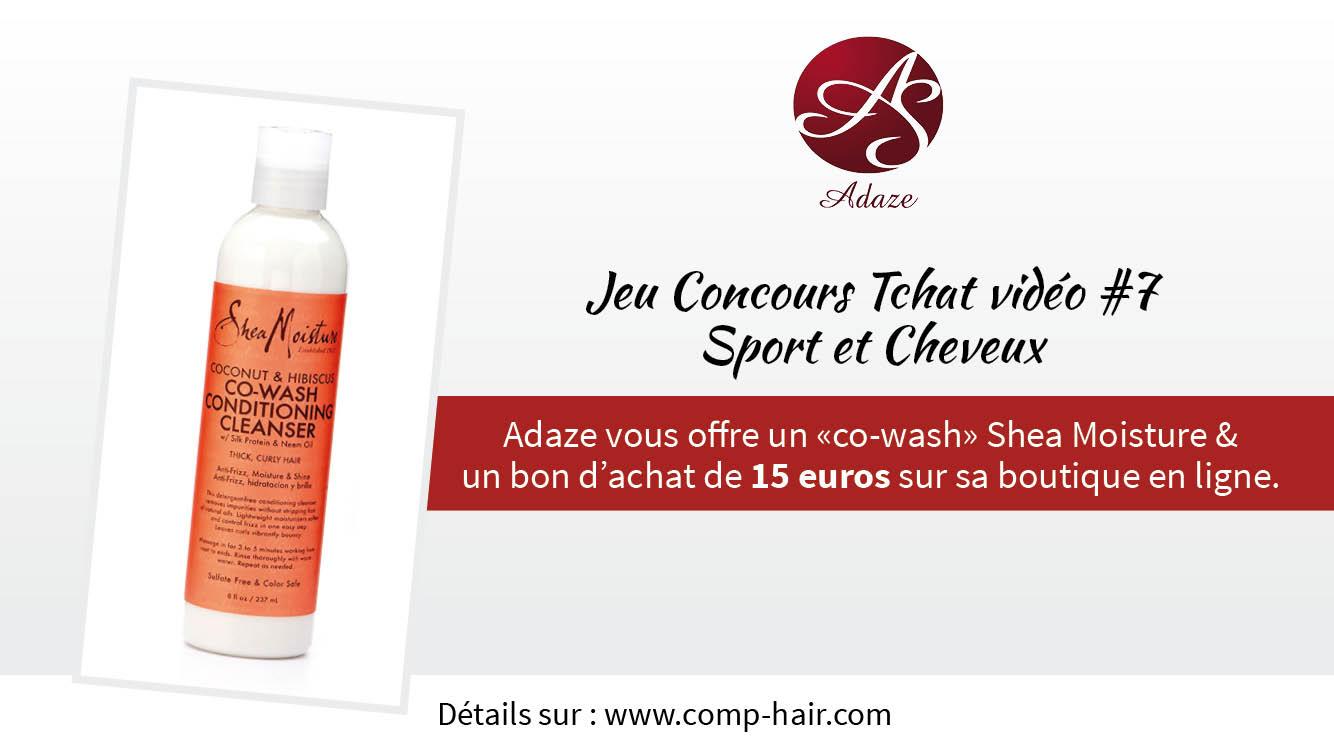 comp'hair chat video sport et cheveux