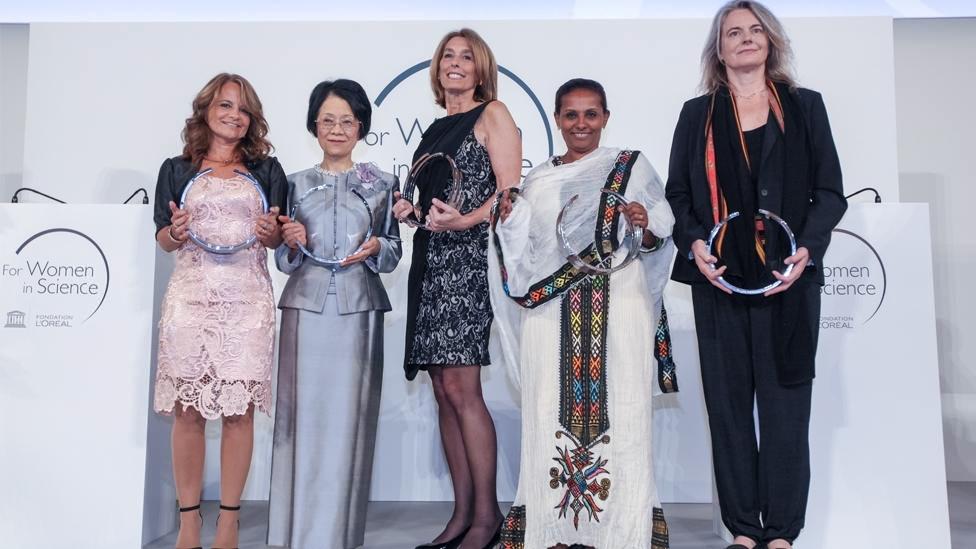Lauréates du Prix L'oréal - Unesco 2014