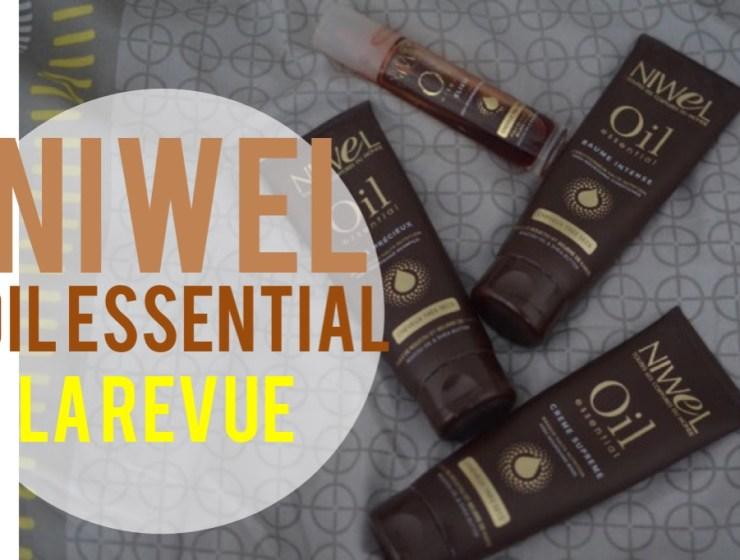 niwel oil essential la revue cheveux tres secs