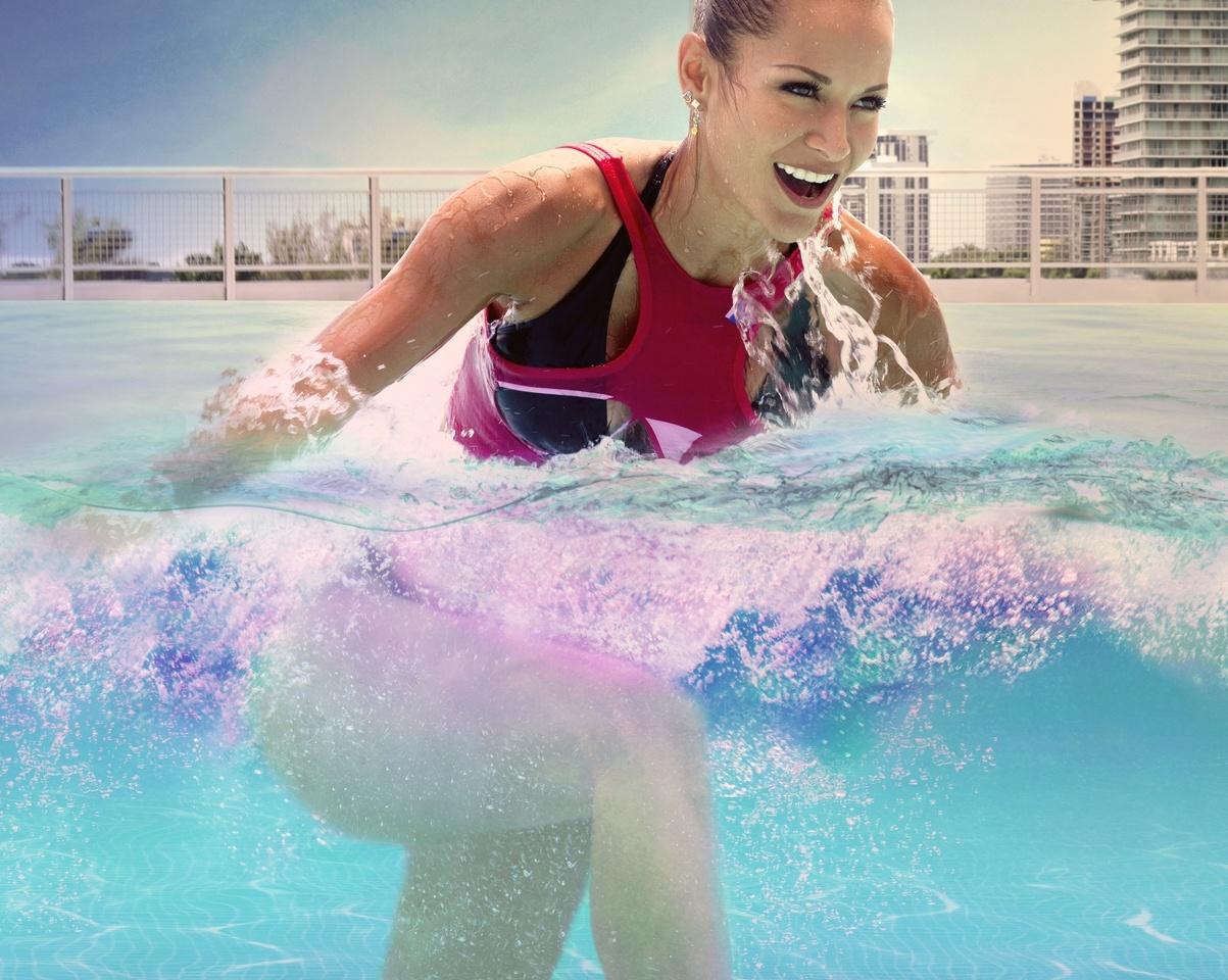 Du sport dans l'eau, rien de mieux quand on est flemmarde mais que l'on veut des résultats.