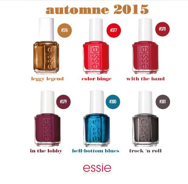 Collection Automne / Fall by Essie