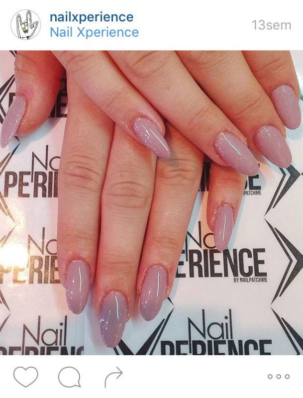 Rallongement au gel chez Nail Xperience - Photo prise sur Instagram @nailxperience