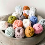 The yarn ByClaire Softmix for Sophiesuniverse, cottonandcandles.nl