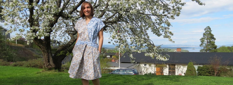 Burda 3/2015 #127 dress