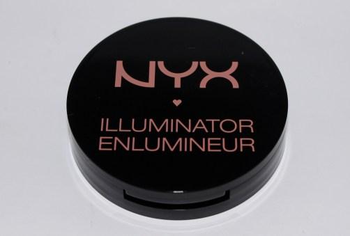 NYX illuminating bronzer