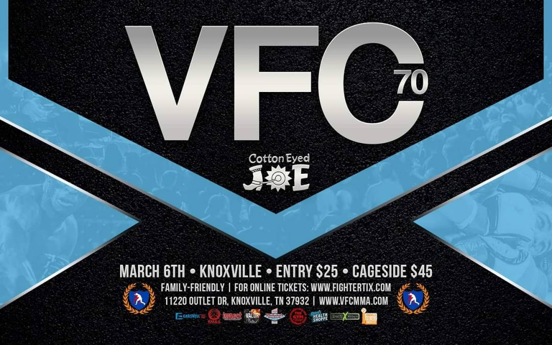 Valor Fights 70- March 6