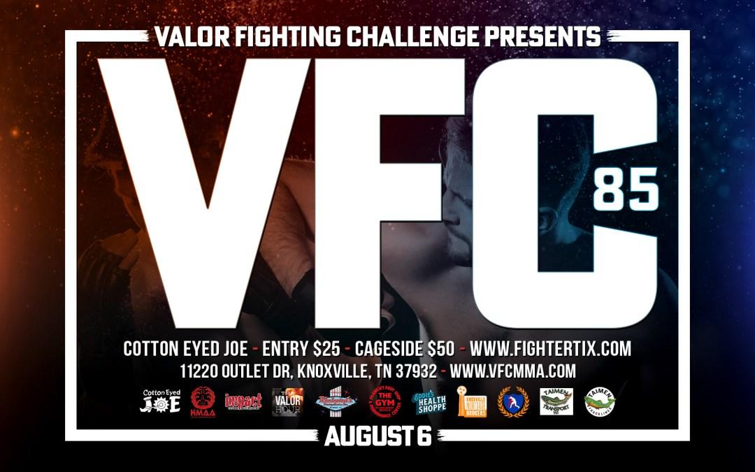 VFC – 85 Fight Night at the JOE