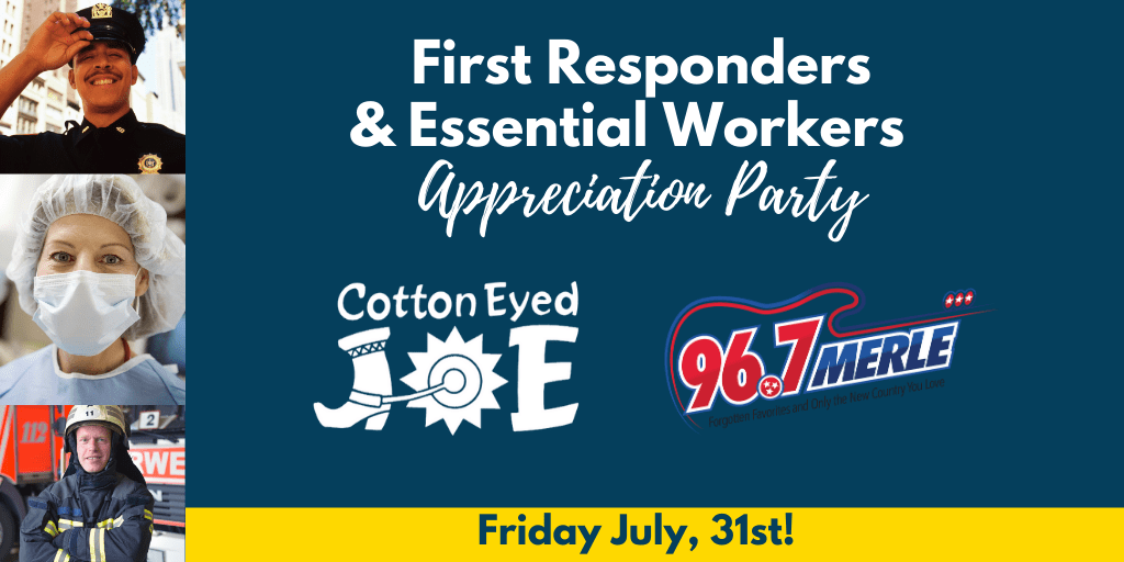 First-Responders and Essential Workers Appreciation Party