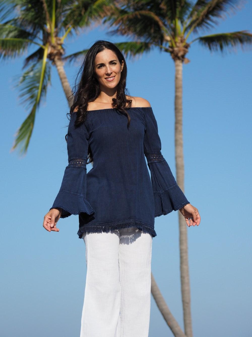 Bianca Midnight Blue Dress
