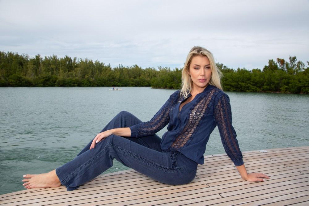 Bali Midnight Blue Pants
