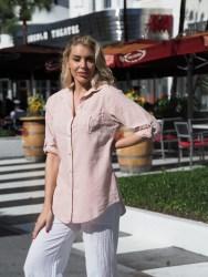 Kate Coral Shirt