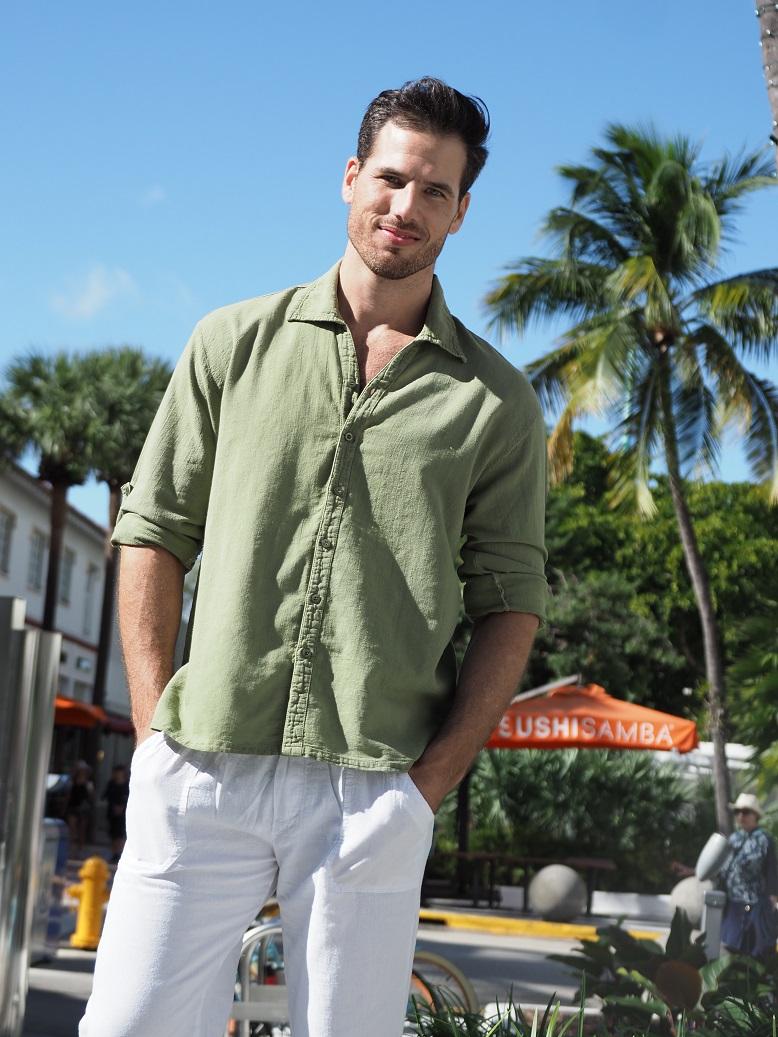 Starlite Olive Green Shirt