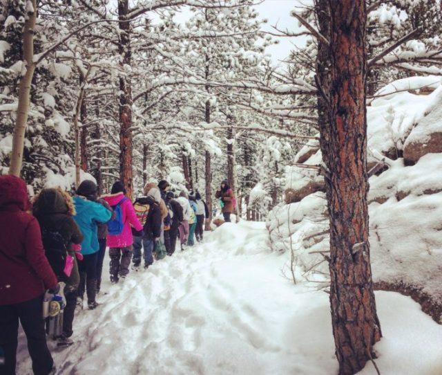 Kipp Montbello Students Singin In The Snow