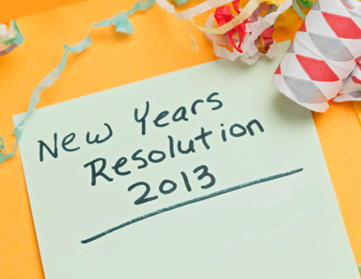 Resoluciones de año nuevo 2013