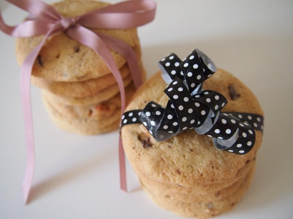 Vegane Schoko Cashew Cookies