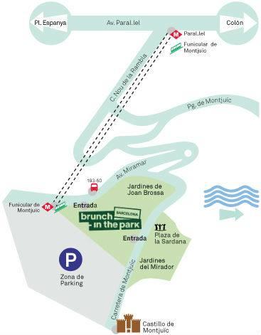 Plan d'accès Brunch in the Park