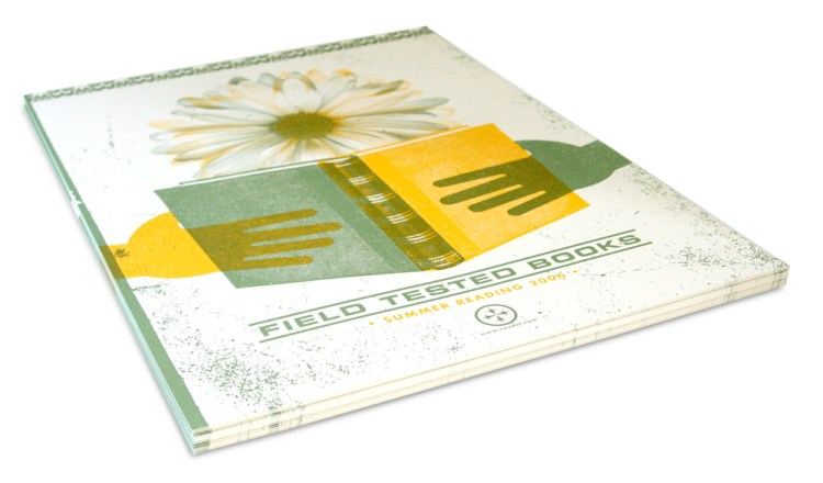 Coudal Partners Field Tested Books Poster