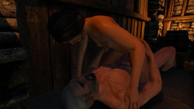 Romances dans Witcher 3 avec Jutta