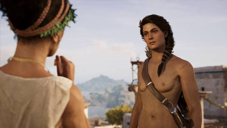 Assassin's Creed Odyssey nude mod à télécharger