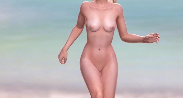 Dead or Alive 5 - Nude Mod - Beach Paradise 02