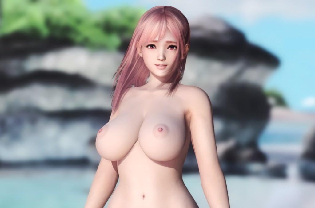 Dead or Alive 5 - Nude Mod - Beach Paradise 28