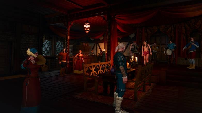 Punchline dans Witcher 3, voilà pourquoi le jeu est 18+