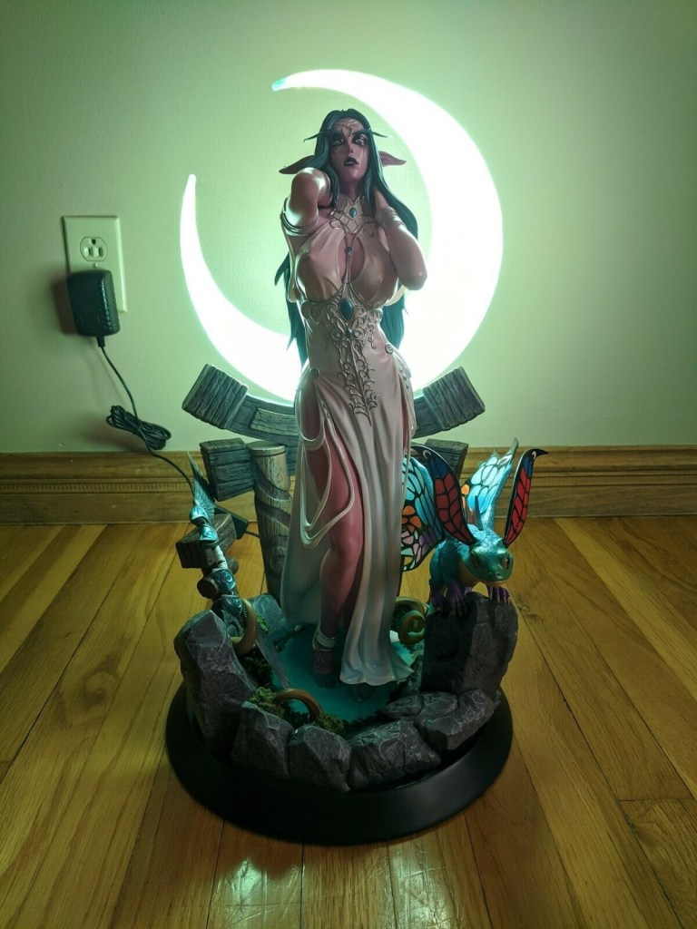 Tyrande - World of Warcraft hentai 19
